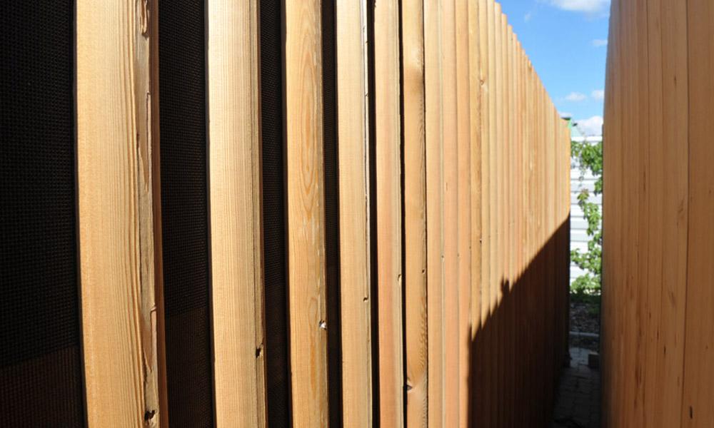 Holz Lärmschutzwand