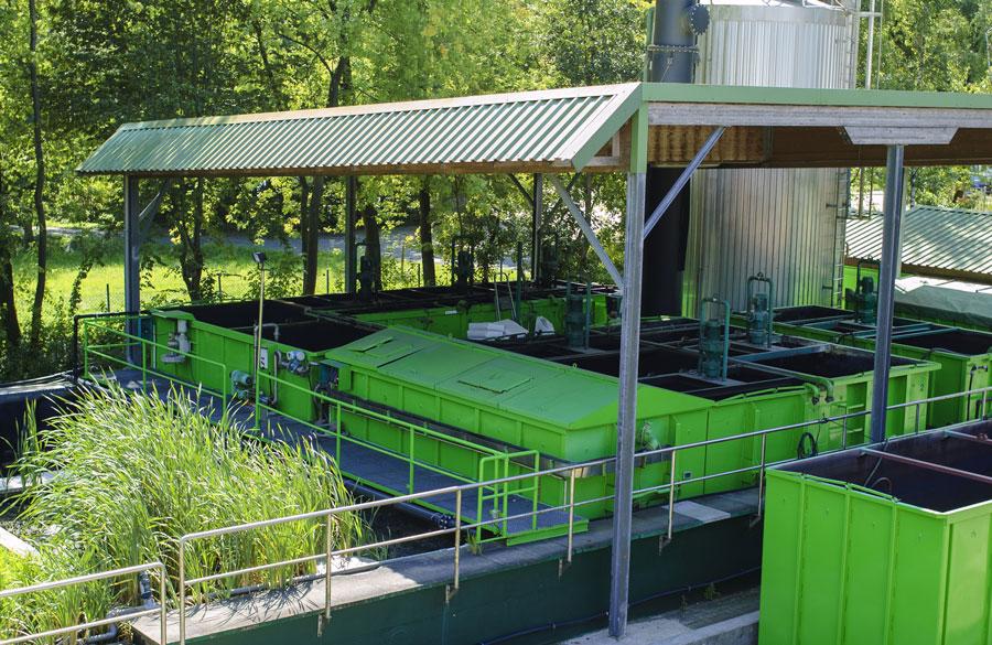 Reinigungsanlage für Abwässer
