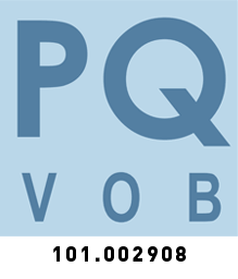 Prüfsiegel PQVOB