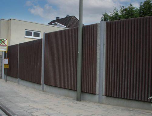 Lärmschutzwand aus Beton 06