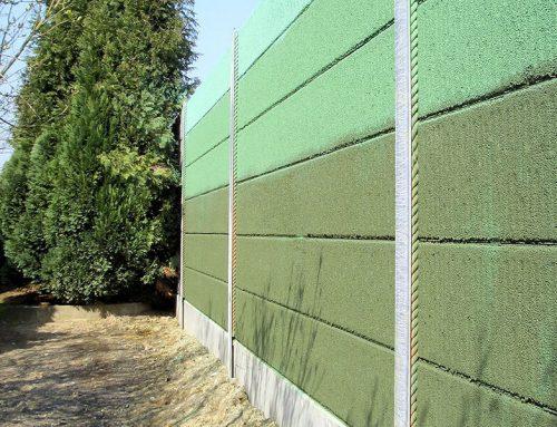 Lärmschutzwand aus Beton 08